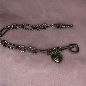 David yurman heart bracelet